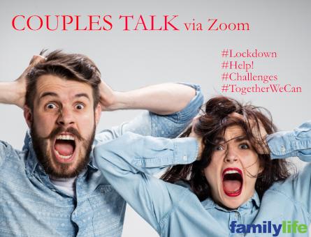 Couples Talk via Zoom marketing image for 30.4.2020